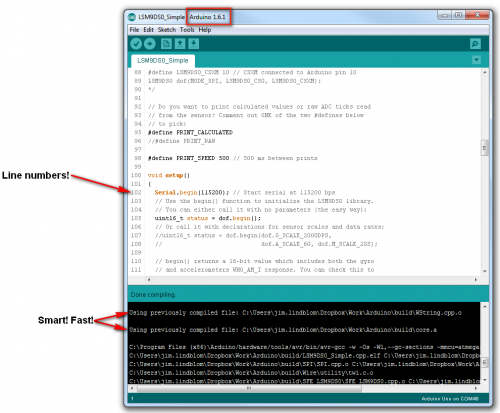 Arduino 1.6 UX improvements
