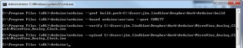 Command line Arduino