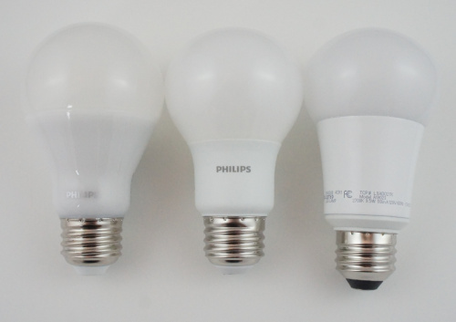 LED Bulb Size Comparison