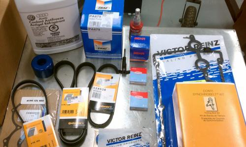 Assorted Audi Parts