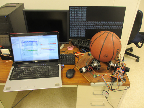Ball-Balancing Robot