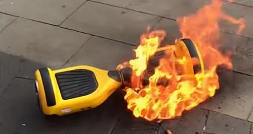 hover board fire