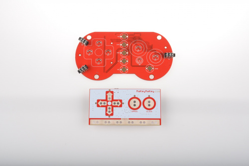 Circuit Beats and Makey Makey PCBs compared