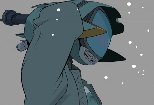 Canti looking bashful