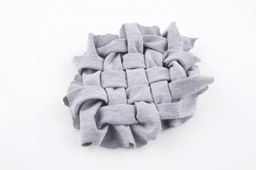 Lattice smocking for Xbee Buzzer E-Textile project