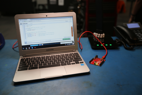 Arduino with Chromebook