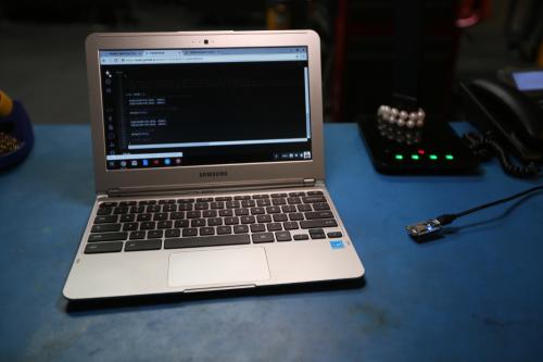 Photon with Chromebook