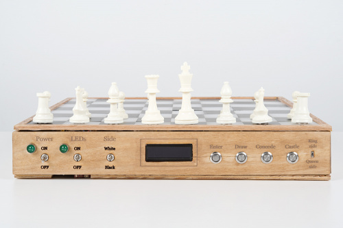 Photo of connected chess board