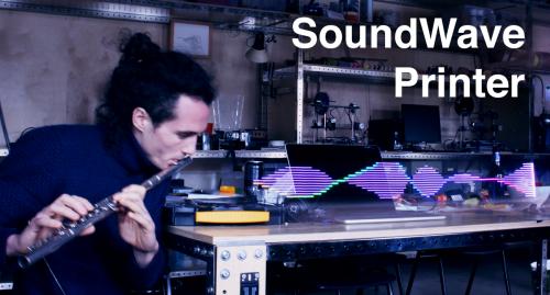 Toon Nelissen's Sound Wave Printing