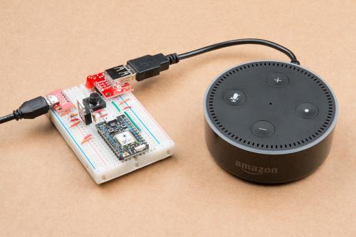 Amazon Echo voice off button