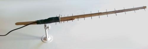 Homemeade Yagi antenna