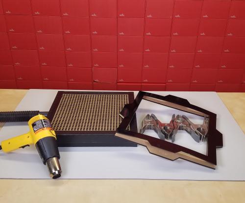 DIY Vacuum Table parts