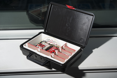 photo of the new SIK Case with removable dividers