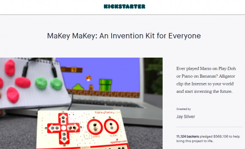 Makey Makey kickstarter success