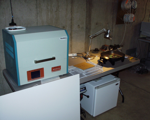 Reflow oven and fridge