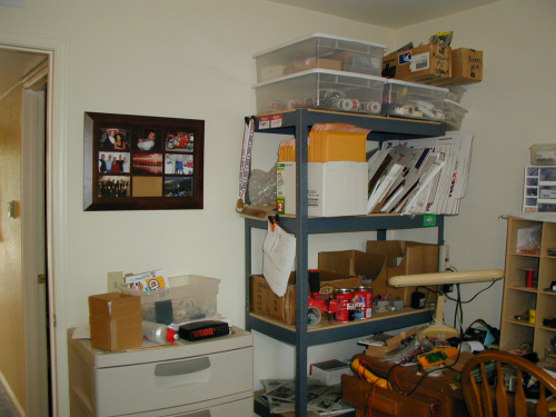 Old SparkFun Shelves