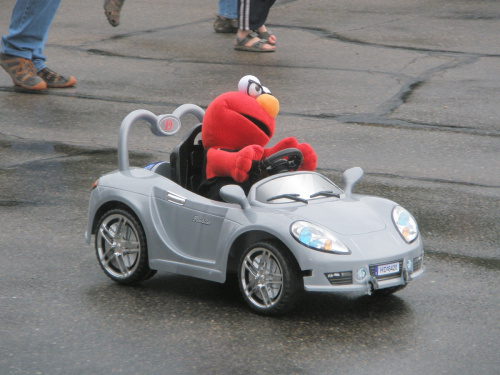SparkFun Elmo Driving in AVC