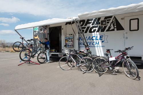 bike repair truck