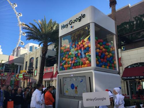 Google Gumball Machine