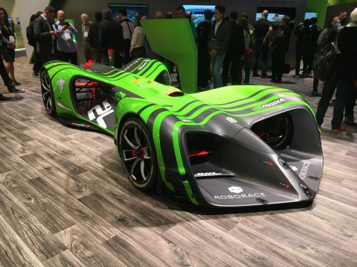 Nvidia Roborace Car