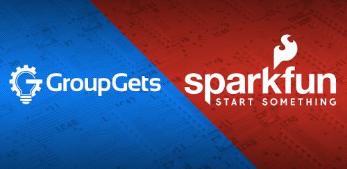 GroupGets + SparkFun = GetSparked