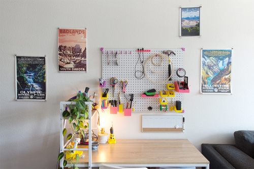 3D printed workspace