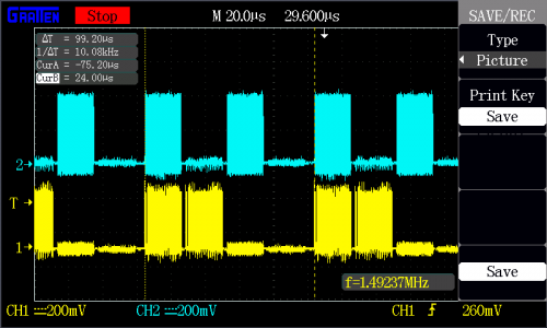 Oscilloscope Capture