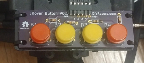 JRover Button Board