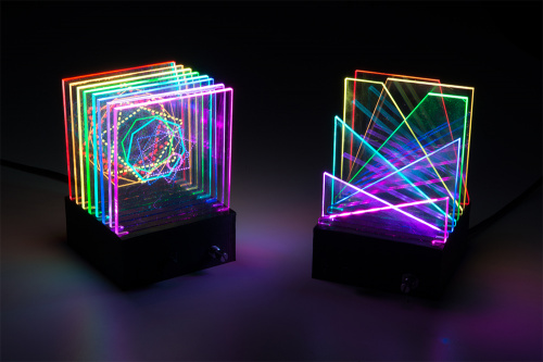 light sculpture overview