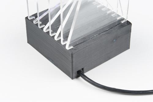light sculpture power cord