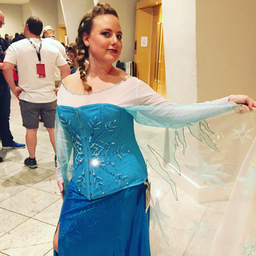 Aimee as Elsa