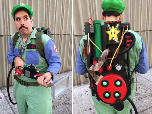 Boo-Buster Luigi costume