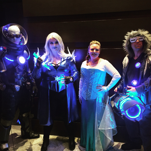 Team Cold cosplay at Dragon Con 2018