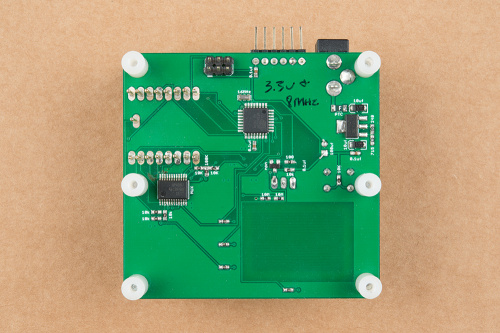 Testbed design with all of the components designed into one single PCB layout