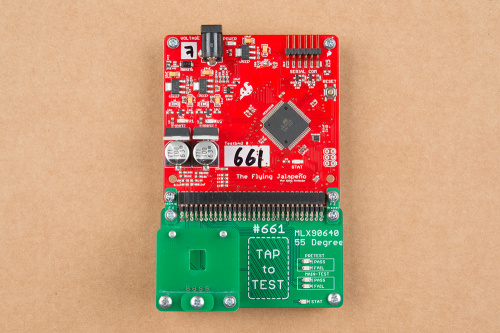 Testbed based off of the flying jalapeno the bottom portion daughter board is quite small