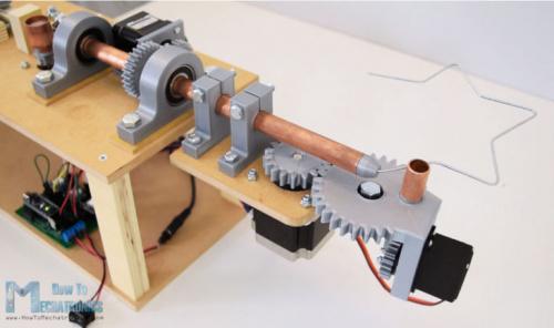 Arduino Wire Bender