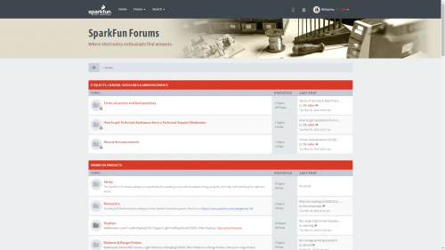 New forums theme