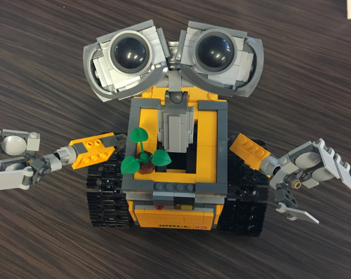 wall-e's plaintive look