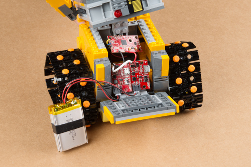 Wall-E's innards