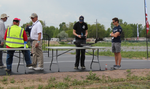 Some pilots getting ready to fly the DIY dragon plane