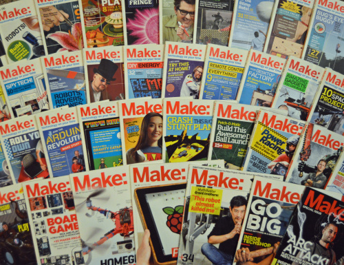 Make Magazine collection