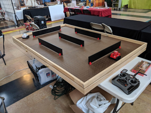 tank maze table