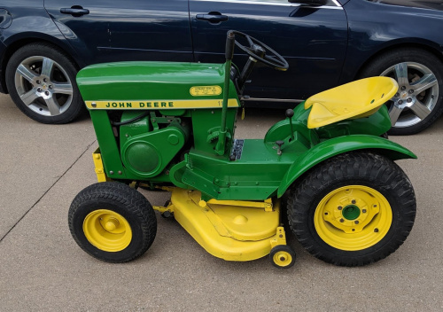 The John Deer 110 Model Mower