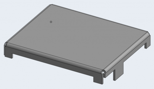 Artemis RF shield designed in OnShape