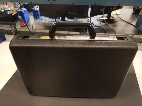 Portable Pi Case Workstation Open