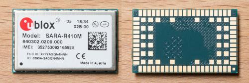 SparkFun Ublox SARA Cellular LTE NB-IOT module