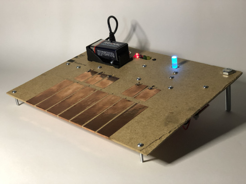 The fully assembled Qwiic Sound Board