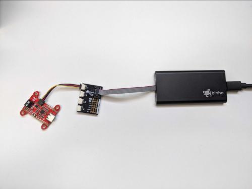 SparkFun Power Delivery Board, Qwiic Interface Board, and Binho Nova