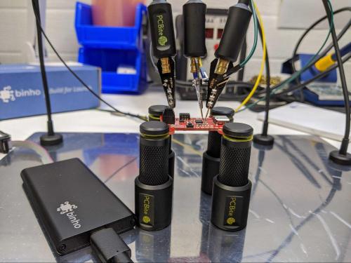 Binho Nova and PCBite probe kit