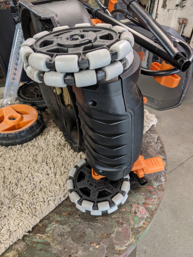 Converting an Electric Mower